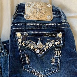 Miss me jeans size 24 signature boot